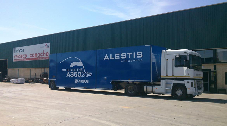 carrocerias aluminio para camiones