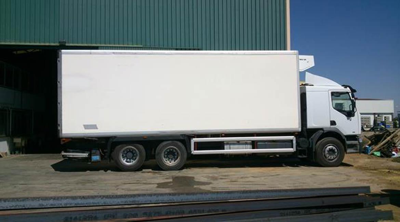 carrocerias usadas para camiones