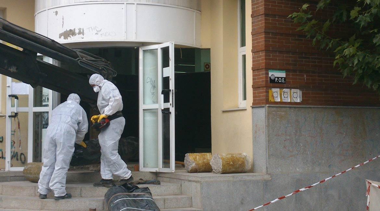 amianto riesgos